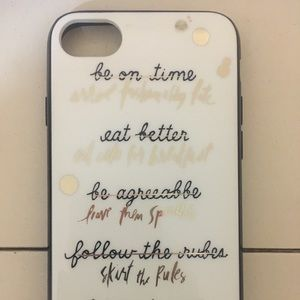 Kate Spade Resolutions Phone Case